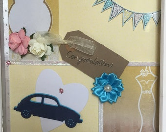 Bespoke wedding gift, Bespoke frame, Wedding frame, happy engagement, Custom Wedding Gift, Engagement, gift, Bespoke, Birthday Gift