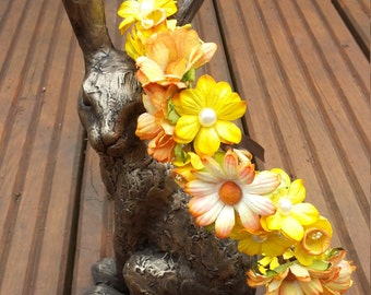Woodland floral crown