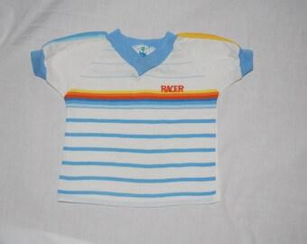 Blue Striped T-Shirt