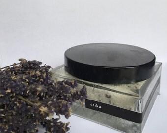 Organic Lavender Sea Salt Scrub