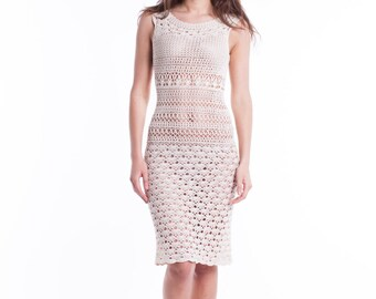 Handmade Crochet Lace Dress