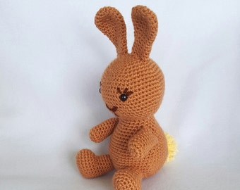 Ready to Ship!! Boppers the Crochet Stuffed Bunny