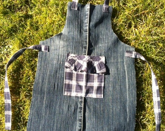 Kid's Denim Apron 4-5yrs