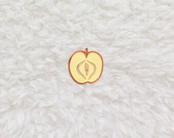 Forbidden Fruit Lapel Pin