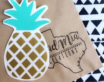 Pineapple Decal {choose your own colors}