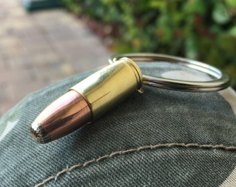 Bullet Keychain with bronze superconductor