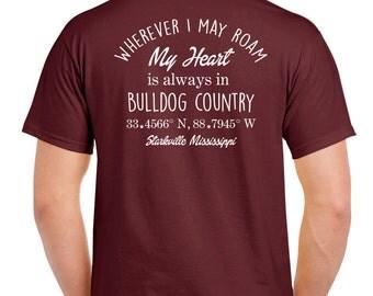 "Mississippi State ""Bulldog Country"" Tshirt"