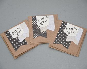 Set of Mini Thank You Cards