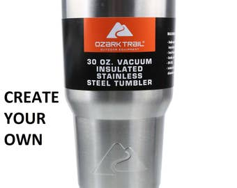 Create Your Own Custom Etched Ozark 30 oz. Cup