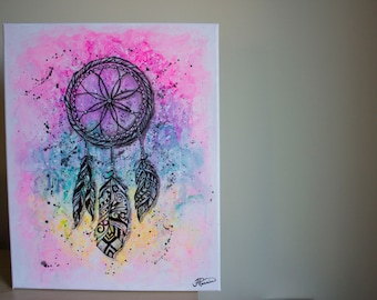 "Dream Catcher Love (20""x16"")"