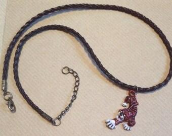 Hazuki Tiger Necklace:  Shenmue Inspired SALE