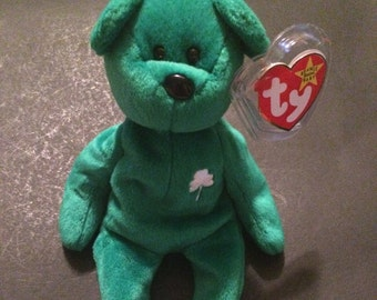 rare ty 2k ty beanie baby with errors listing expires on. Black Bedroom Furniture Sets. Home Design Ideas