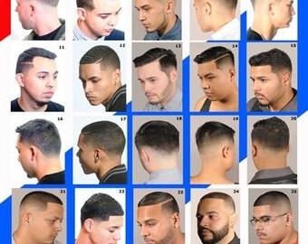 "Barber Poster   Barber shop posters   36"" x 24"" Laminated"