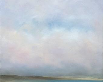 Desert, Lake + Clouds