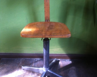Office Chair swivel chair 20s architect Chair wood