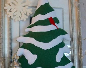 Snowy Pine softie