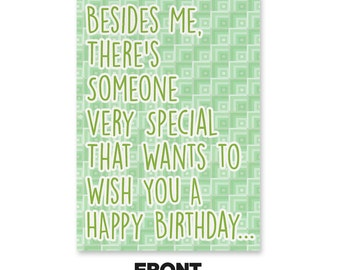 His Name Is John Cena Birthday Card (WITH MEME SOUND) by Unwelcome Greetings