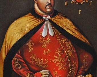 Portrait copy of Grigory M.Gamalei