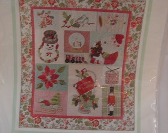 Christmas Greetings Quilt Kit by The Vintage Spool