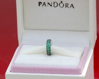 NEW! AUTHENTIC PANDORA Spacer Inspiration Within green 791359CZN