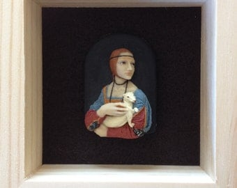 Lady with The Ermine Brooch