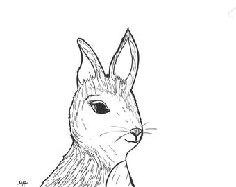 Bunny Canvas: Nursery Pen Pal