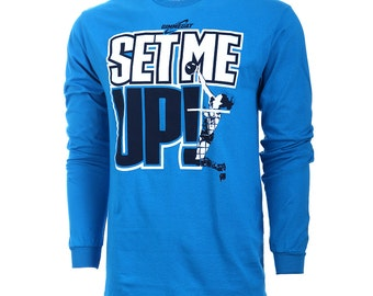 SALE! Set Me Up Long Sleeve Volleyball T-Shirt, Volleyball Shirts, Volleyball Gift - Free Shipping!