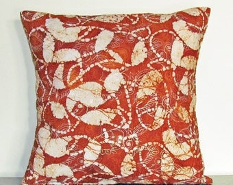 Decorative Pillow Cover, Gifts under 20, Brown Cushion Cover, Custom Pillow Case, 16x16 Pillow, Throw Pillow, Handmade Pillow Cover