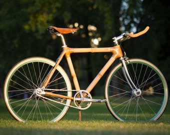 Soltera - Single Speed Bamboo Bicycle