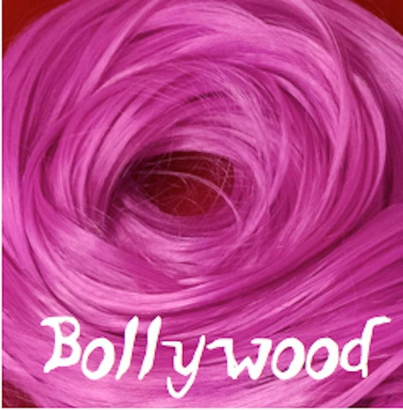 Bollywood Light Fuchsia Purple Doll Hair Hank Rerooting Barbie, Monster High, Ever After, Blythe, Crissy Rehair My Little Pony Intl Shipping