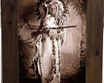 Native American Indian Framed Pictures