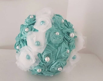 Tulle fabric roses ball