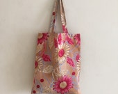 Shopper bag / Tote made from upcycled Indian sari