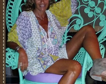 tunic boho hippie style