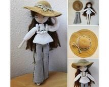 Mariette - Crochet doll pattern