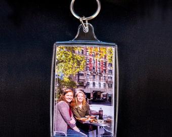 Personalized Custom Photo Keychain