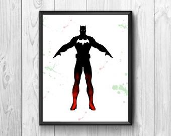 batman, superhero, wall posters, comics, children