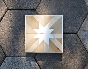 White Poplar Mosaic Star