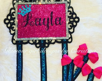 Glamorous Personalized Bow holder