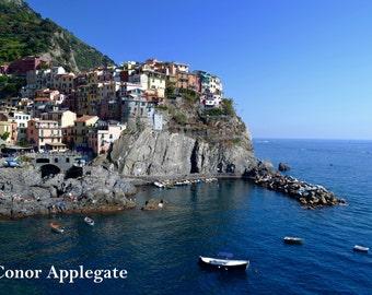 Cinque Terre Photography - Europe Photography - Italian Riviera Seaside Village - Colorful Decor - Wall Art