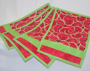 Placemats; set of 4