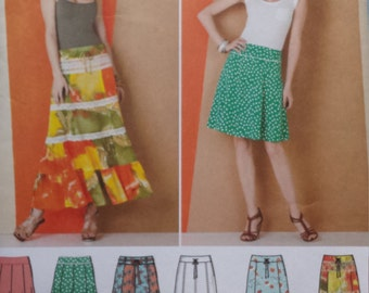 Simplicity 1888 Skirt Sewing Pattern 16-24