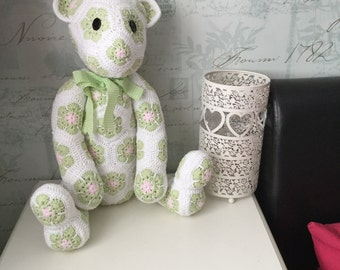 Made to Order - Crochet Heidi Bear - choice of colours