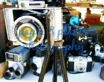 8x10 vintage camera photograph
