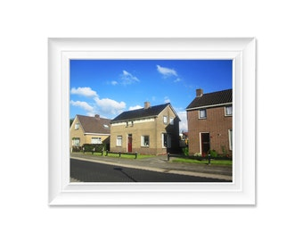 Dutch rural houses, Netherlands photography, House photography, Instant download