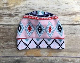 Tribal Tot knit hat