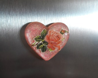 Tea Rose Magnet