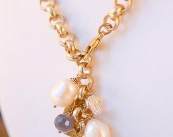 Pearl Swarovski Necklace