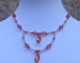 """Necklace """"Amber Art"""""""