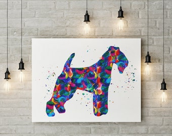 Trendy Wall Art bulldog art bulldog artsy english bulldog watercolour